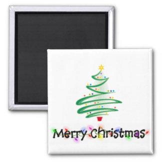 Felices Navidad Imán De Nevera