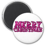 Felices Navidad Imán