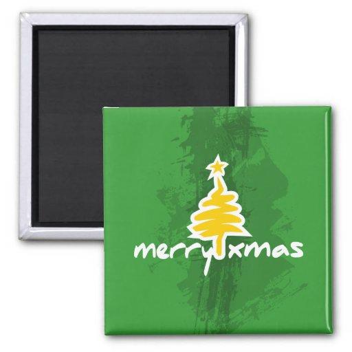 Felices Navidad Iman De Nevera