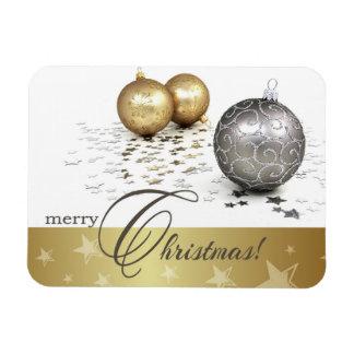 Felices Navidad. Imán del regalo del navidad
