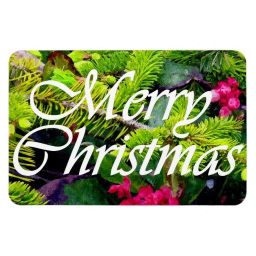 Felices Navidad Iman Flexible