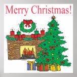 Felices Navidad Impresiones