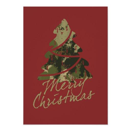 """Felices Navidad Invitación 5"""" X 7"""""""