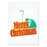 Felices Navidad Invitación Personalizada