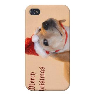 Felices Navidad - laboratorio amarillo iPhone 4/4S Carcasa