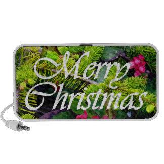 Felices Navidad Laptop Altavoz
