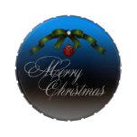 Felices Navidad Latas De Dulces