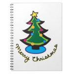 Felices Navidad Libro De Apuntes Con Espiral