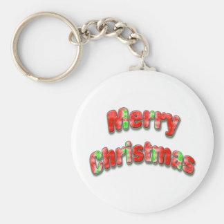 Felices Navidad Llavero