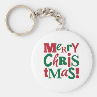 Felices Navidad Llaveros Personalizados