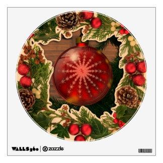 Felices Navidad, marco