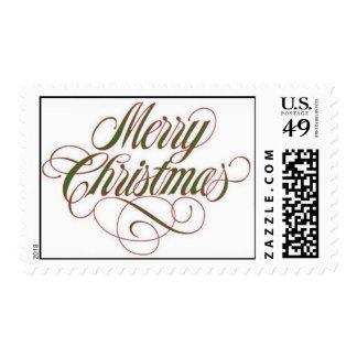 ¡Felices Navidad! Medio del sello