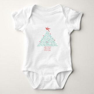 ¡Felices Navidad multilingües! Camisas