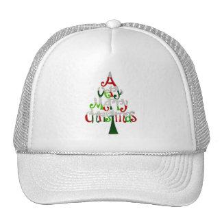 Felices Navidad muy Gorras