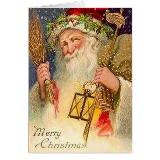 Felices Navidad, navidad del padre Tarjeta De Felicitación