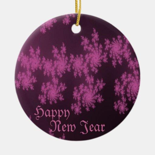 Felices Navidad nuevo Jear feliz Ornamente De Reyes