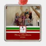 Felices Navidad: Ornamento de la imagen Adornos