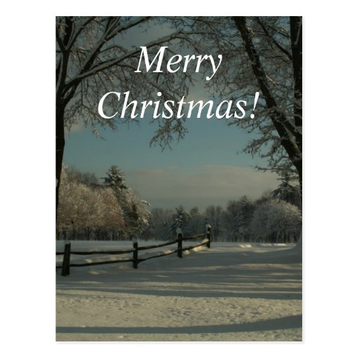 ¡Felices Navidad!  ¡País de las maravillas del Tarjetas Postales