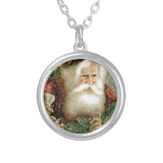 Felices Navidad pasadas de moda Papá Noel Grimpolas Personalizadas