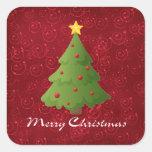 Felices Navidad Pegatina
