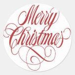 ¡Felices Navidad!  Personalizado de la etiqueta de