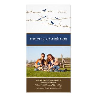 Felices Navidad Photocard (marina de guerra) de Tarjeta Fotográfica