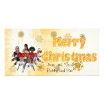 Felices Navidad PhotoCard Tarjetas Personales