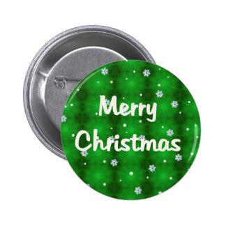 Felices Navidad Pin Redondo 5 Cm