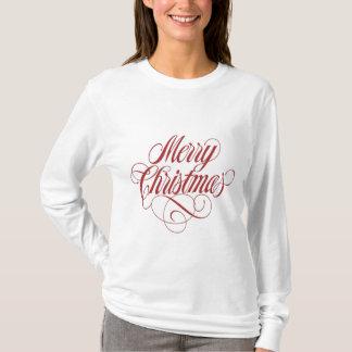 ¡Felices Navidad! Plantilla de encargo de la Playera