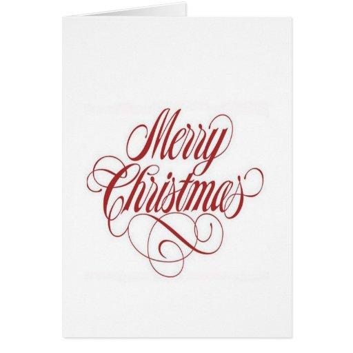 ¡Felices Navidad! Plantilla de la tarjeta de felic