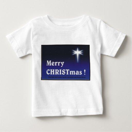 ¡Felices Navidad! Playera De Bebé