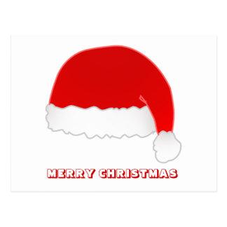 Felices Navidad, por Nekoni, el gorra de Santa Postal
