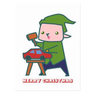 Felices Navidad, por Nekoni, el taller de Santa Postal