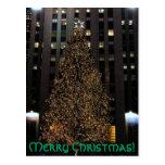 ¡Felices Navidad! postal