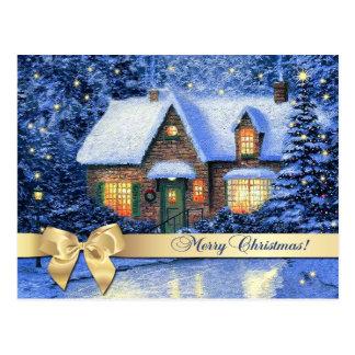 Felices Navidad Postales adaptables del navidad