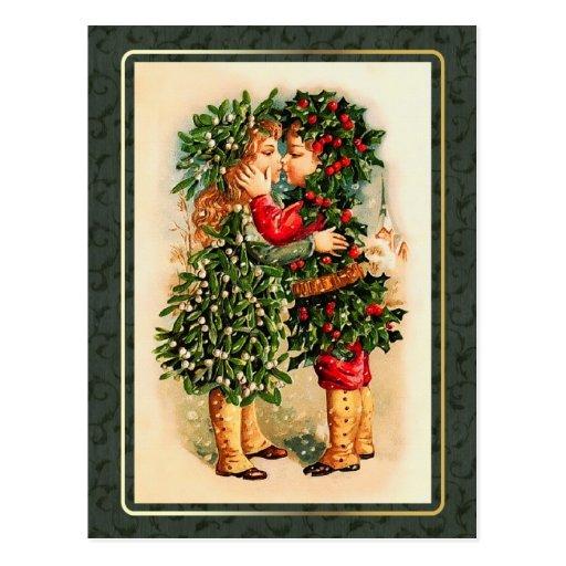 Felices Navidad. Postales del navidad del vintage