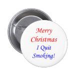 ¡Felices Navidad que abandoné el fumar! Pin