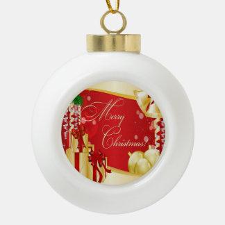 Felices Navidad que saludan con los arcos y Orna d Adorno