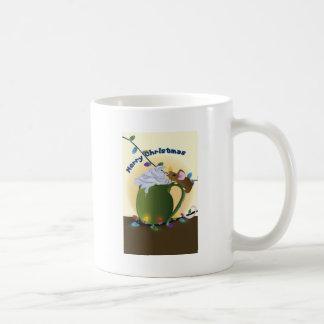 'Felices Navidad ratoniles Taza De Café