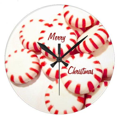 Felices Navidad Reloj De Pared