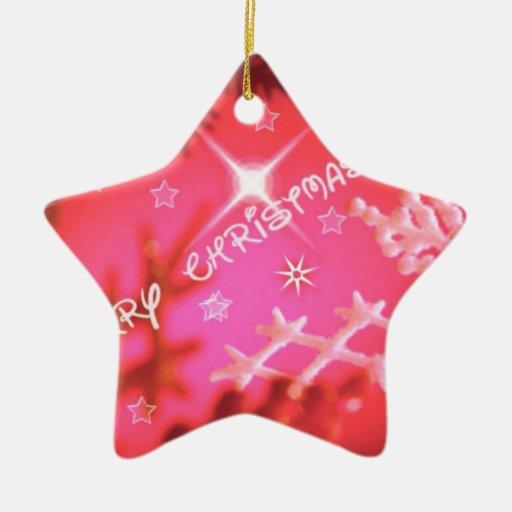 Felices Navidad, rojas Adorno De Navidad