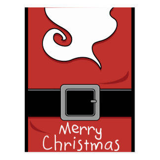 Felices Navidad Santa Tarjeta Postal