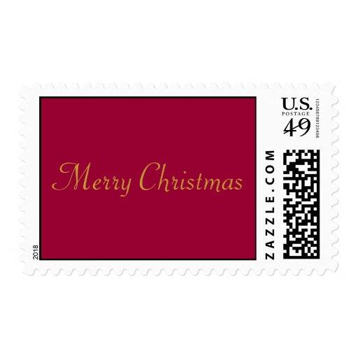 Felices Navidad Sellos Postales