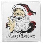 Felices Navidad Servilletas Imprimidas