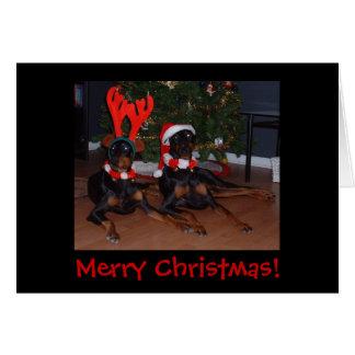 ¡Felices Navidad! Tarjetón