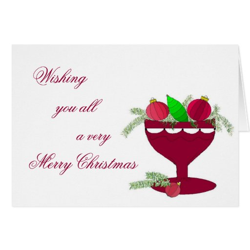 Felices Navidad - tarjeta