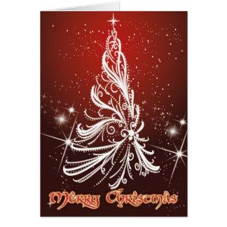 Felices Navidad Tarjeta