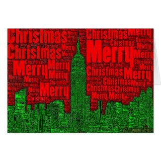 Felices Navidad: Tarjeta 002 del arte de la