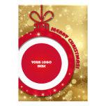 Felices Navidad. Tarjeta corporativa adaptable de  Comunicados Personales