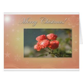 Felices Navidad Tarjeta De Felicitación Grande